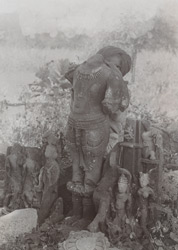 Miscellaneous sculpture fragments from Mau, Jhansi District